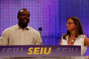 Tyrone Freeman at SEIU 2008 Convention